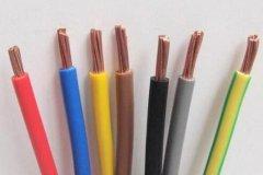 双色线是什么电线?双色电线应用和价格及比普通BV单色电线贵